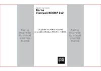 Gabarit fichier borne KCOMP 2×1