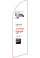 Gabarit Flag 2,40