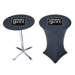 table haute mange debout personnalisable