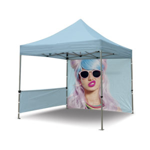 Exemple de tente barnum en 3 m pliante