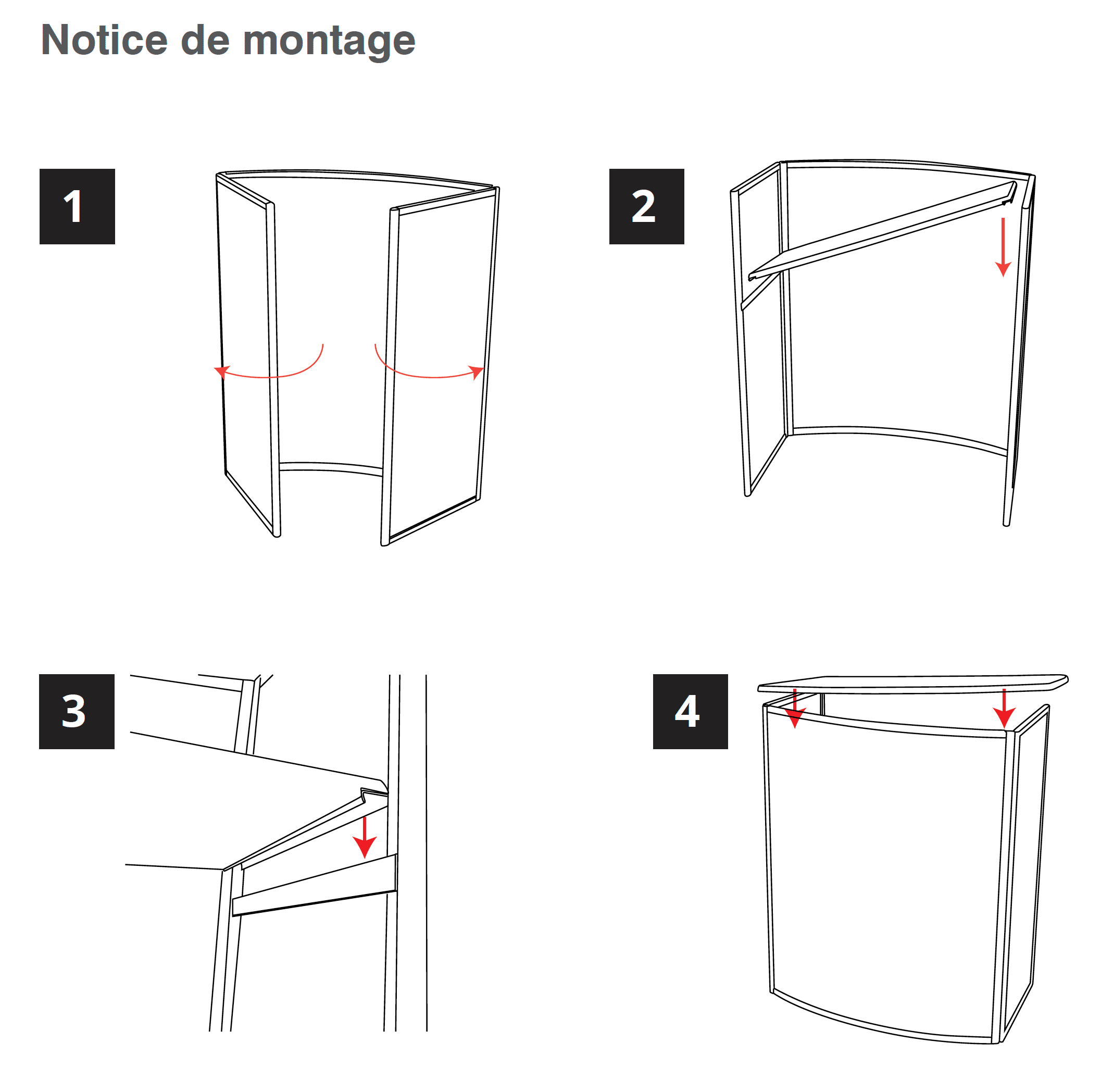 Notice montage