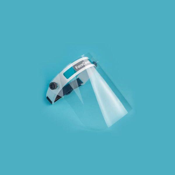 visière protection visage amovible et ajustable