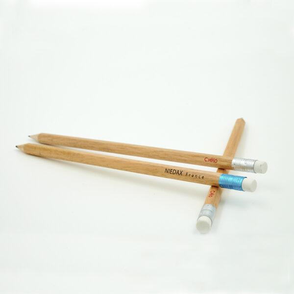 Crayons à papier publicitaires hexagonal