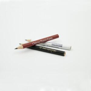 Mini crayon personnalisé rond illustration