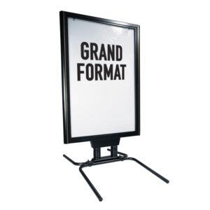 Porte affiche pour l'extérieur grand format